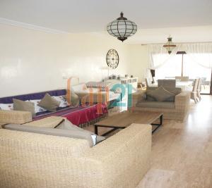 Bel appartement meublé avec vue sublime sur l'océan