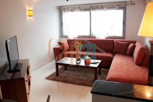 Bel appartement meublé avec vue sur mer et sur le port de plaisance de Tanger