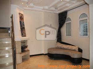 A beautiful furnished villa