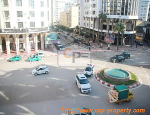 Conveniently located in the center of Tangier, a large apartment for sale