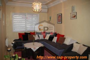 Tanger, Sidi Driss : apartment with terrace for sale