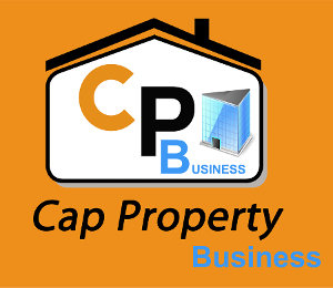 Logo Cap property Business